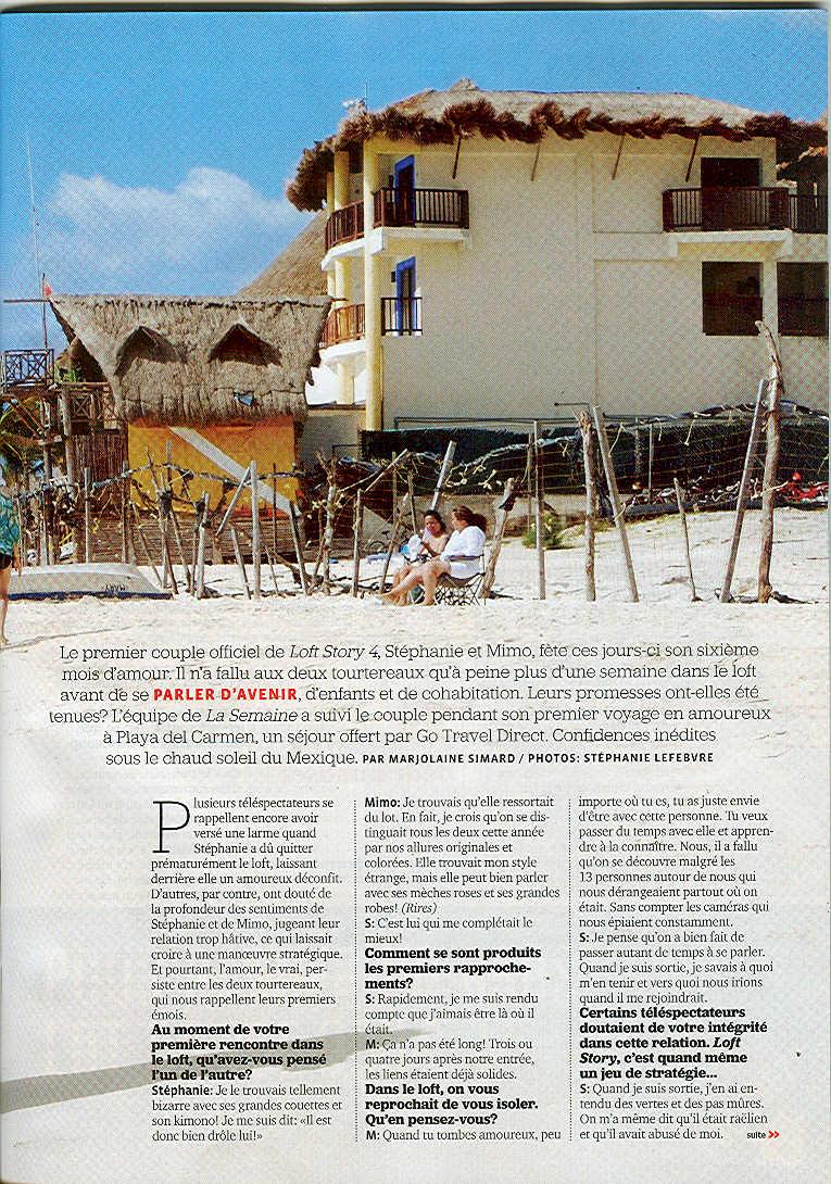 Le voyage de Yannick et Stéphanie à Playa del Carmen