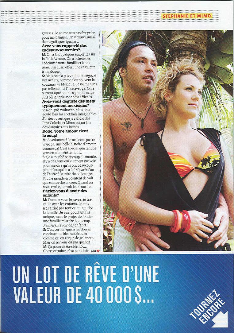 Scandale: Mimo et Stéphanie s'aiment au Mexique!