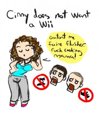 Cynny ne veut pas de Wii