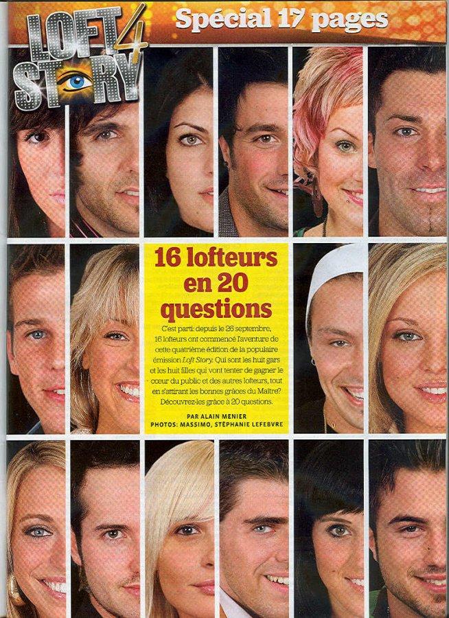 16 lofteurs en 20 questions