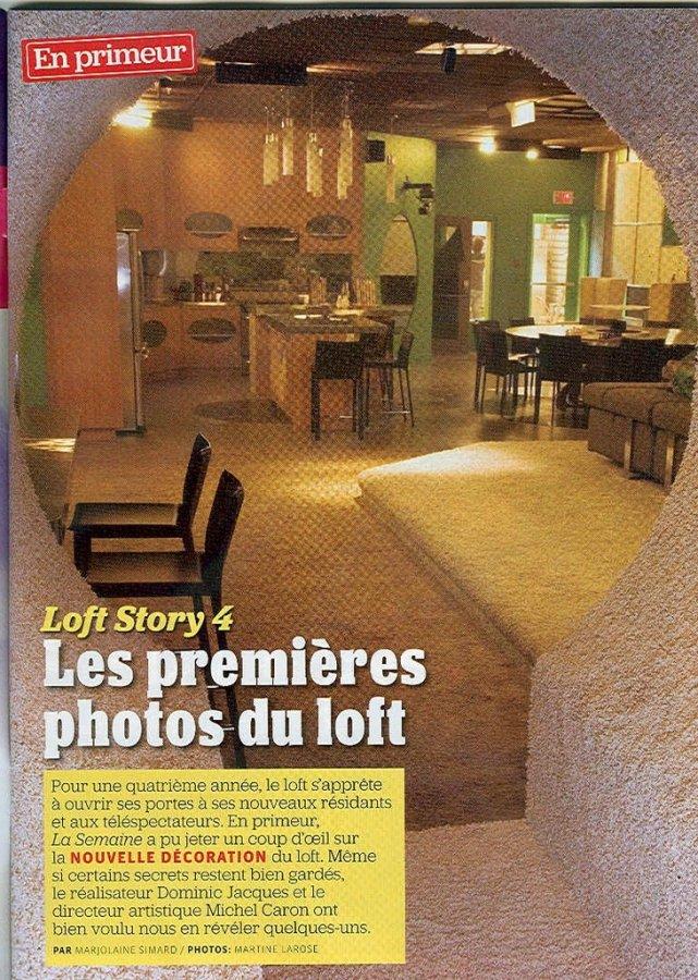 Les premières photos de Loft Story 4