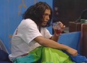 Yannick a lavé ses cheveux